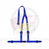 Sabelt Clubman 3 Point Harness - Bolt Fixing - Blue