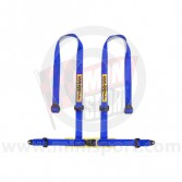 Sabelt Clubman 4 Point Harness - Bolt Fixing - Blue