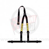 Sabelt Clubman 3 Point Harness - Bolt Fixing - Black