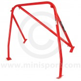 RED - RHD detachable diagonal Rear Roll Cage