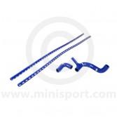 SAMTCS-187C-B Mini Silicone Hose Kit - SPi - Blue