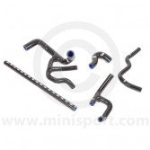 SAMTCS-187C-BLK Mini Silicone Hose Kit - SPi - Black