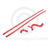 SAMTCS-19C-R Mini Silicone Hose Kit - Cooper S - Red