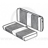 Mini Traveller Mk2 67-70 Rear Seat Cover Kit