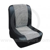 Front Seat Covers - Pair - Houndstooth - Mini 73-80