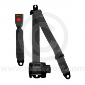 Securon Rear Inertia Reel Seat Belt - Black