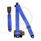 Securon Rear Inertia Reel Seat Belt - Blue