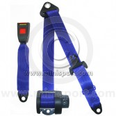 Securon Rear Inertia Reel Seat Belt - Blue 1997-01