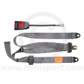 Securon Front Static Seat Belt - Grey
