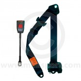 Mini Front Inertia Seat Belt - black