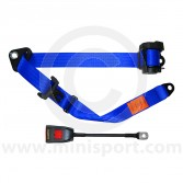 Securon Front Inertia Reel Seat Belt - Blue