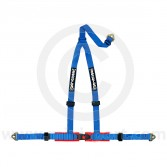 Securon 3 Point Harness - Snap Hooks - Blue