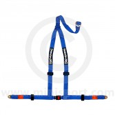 Securon 3 Point Harness - Bolt-in - Blue