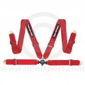 Securon 4 Point Harness - 75/75mm - Red