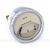 Smiths Water Temperature Gauge - Electrical - Magnolia face with Chrome ring