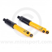 SPANGM1-158RMSY Spax yellow adjustable Mini front shock absorbers each
