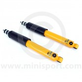 SPANGM2-158RMSY Spax yellow adjustable Mini rear shock absorbers each
