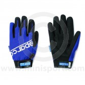 Mechanics Gloves - Sparco - Blue