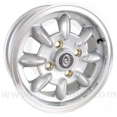 "5 x 12"" Ultralite Mini Wheel - Silver"