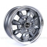 "5 x 12"" Ultralite classic Mini Wheel in gunmetal"