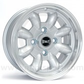 "5.5 x 12"" Ultralite Mini Wheel - Silver"