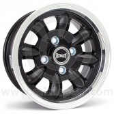 "5.5 x 12"" Ultralite Mini Wheel - Black"