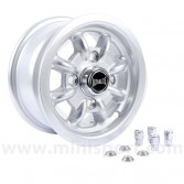 "Classic Mini 4.5"" x 10"" Ultralite Wheel in Silver"