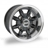 "6 x 10"" Ultralite Mini Deep Dish Wheel - Black (Wheels)"