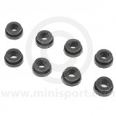 SPDSP662BLK Uprated Poly Mini rear subframe bush kit in black. Fits all models from 1959-1976