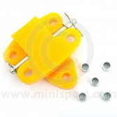 SPDSP680FR Mini engine mounting quick-release type in yellow polyurethane rubber