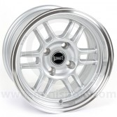 """7 x 13"""" Ultralite ENKI Mini Wheel - Silver"""