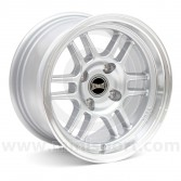 "7 x 13"" Ultralite ENKI Classic Mini Wheel in Silver"