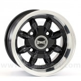 "6 x 10"" Ultralite Mini Deep Dish Wheel - Black"