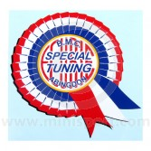 Special Tuning Rosette Sticker - Yellow