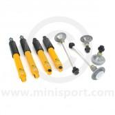 SUSKIT6L Mini Sports suspension kit with Spax lowered adjustable shock absorbers