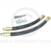 Oil Cooler Rubber Hoses - 1275/Cooper S pair