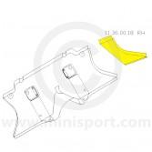 MCR11.36.00.18 RH Toe Board End Repair - Mini all models