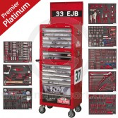 APPHCOMBO2 Paddy Hopkirk Mini 33EJB Sealey Tool Chest & Platinum series tools