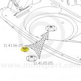 MCR11.41.06.05 Space Wheel Clamp - Mini Mk1