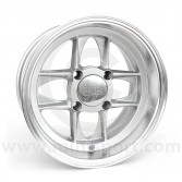 6 x 12 Mamba Wheel - Silver/Polished rim