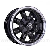 5.5 x 13 Minilight Wheel - Black/Polished Rim
