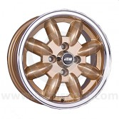 5.5 x 13 Minilight Wheel - Gold/Polished Rim