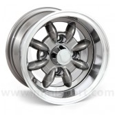 "Gunmetal 6x10"" Minilight wheel for Classic Mini"