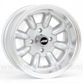 7 x 13 Minilight Wheel - Silver/Polished Rim