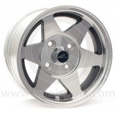 6 x 12 Starmag Alloy Wheel - Diamond/ Black