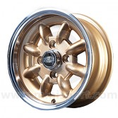5 x 12 Superlight Wheel - Gold/Polished Rim