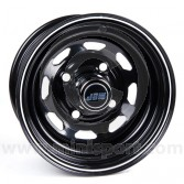 5.5 x 10 W8 Steel Wheel - Black