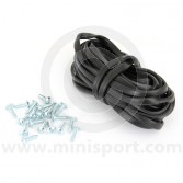 Mini Wheel Arch Rubber Finishing Strip