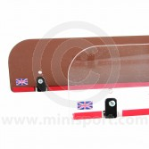 Front screen deflector/ demist panel full size - Clear