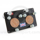 Stopwatch Holding Panel - Aluminium Medium Dual inc 2 x Pea Lights
